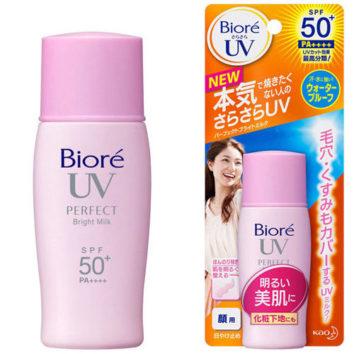 Kem chống nắng Biore UV Bright Face Milk