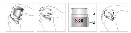 Mở hộp Kem đêm dưỡng trắng trị thâm nám SK-II