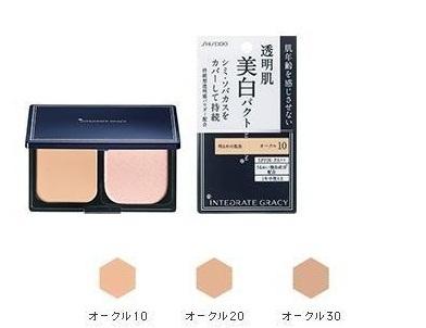 Phấn phủ Shiseido Integrate Gracy SPF26/PA++