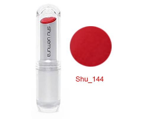 Kết quả hình ảnh cho Son Shu màu 144 đỏ tươi