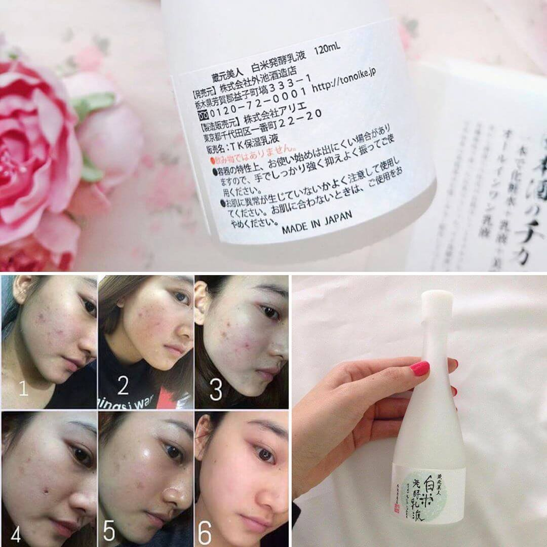 Review Lotion sake KURAMOTO