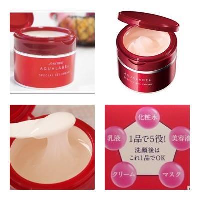 review kem dưỡng da Shiseido AqualabelSpecial Gel Cream
